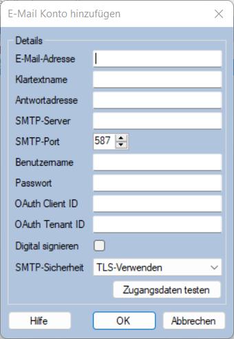 E-Mail Adresse Von